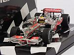 McLaren MP4/23 Mercedes #22 GP Brasil 2008 World Champion Lewis Hamilton by MINICHAMPS