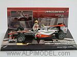 McLaren MP4/25 Mercedes Qualifying Session GP Canada 2010  Lewis Hamilton by MINICHAMPS
