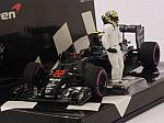 McLaren MP4/31 Honda #22 GP Abu Dhabi 2016 Jenson Button by MINICHAMPS