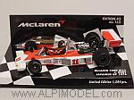 McLaren M23 Ford GP Japan 1976 World Champion James Hunt (rain tyres) by MINICHAMPS