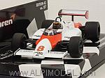 McLaren MP4/1C Ford Test Silverstone 1983 Stefan Bellof by MINICHAMPS