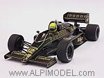 Lotus 98T Renault Turbo 1986  Ayrton Senna by MINICHAMPS
