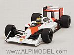 McLaren MP4/4 Honda 1988 World Champion Ayrton Senna (New Edition) by MINICHAMPS