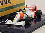 McLaren MP4/8 Ford 1993 Ayrton Senna Collection (New Edition) by MINICHAMPS