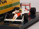 McLaren MP4/4 Honda #12 GP Brasil 1988 Ayrton Senna World Champion by MINICHAMPS