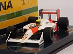 McLaren MP4/4 Honda #12 Winner GP Hungary 1988 Ayrton Senna World Champion by MINICHAMPS