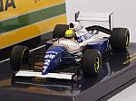 Williams FW16 Renault #2 GP San Marino 1994 Ayrton Senna fatal race (HQ resin) by MINICHAMPS