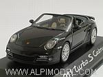Porsche 911 Turbo S Cabrio 2011 (Black) (Porsche Promo) by MINICHAMPS