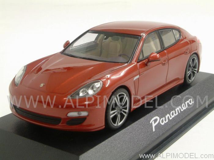 ... Porsche Panamera 2009 (Metallic Red) Porsche Promo (1/43 scale model