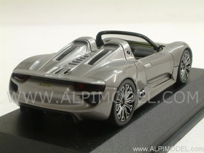 minichamps porsche 918 spyder 2010 porsche promo 1 43 scale model. Black Bedroom Furniture Sets. Home Design Ideas