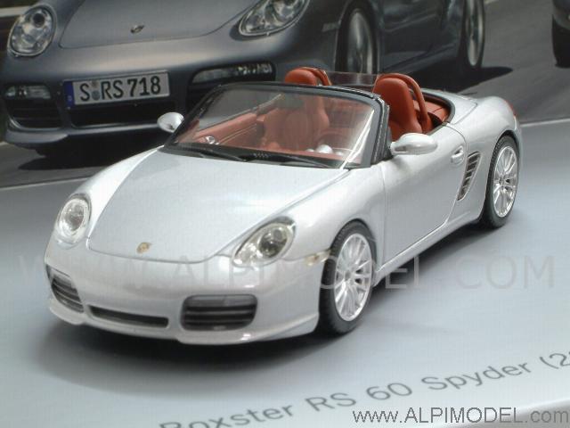 2008 Boxster Rs60 Spyder >> minichamps Porsche RS60 Spyder Set - Boxster R60 2008 + 718 RS60 1960 (Porsche Promo) (1/43 ...