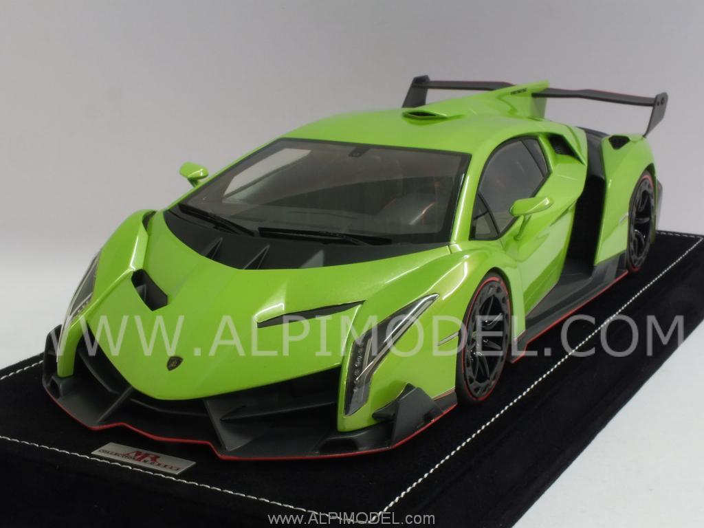 Lamborghini Veneno Green 2017 Ototrends Net