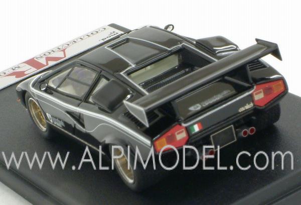mr-collection Lamborghini Countach LP 500R (black) (1/43 scale model)