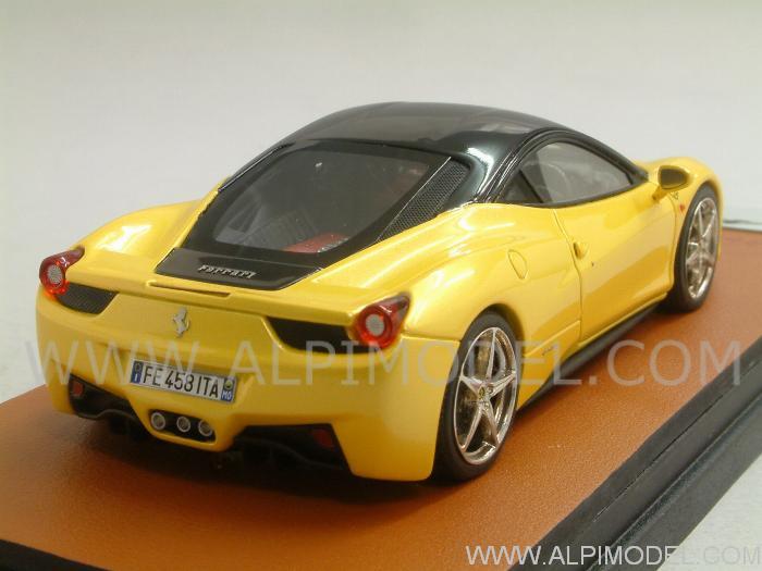 Mr collection Ferrari 458 Italia Giallo Tristrato Nero