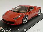 Ferrari 458 Spider roof closed  (Rosso Corsa) by MR COLLECTION