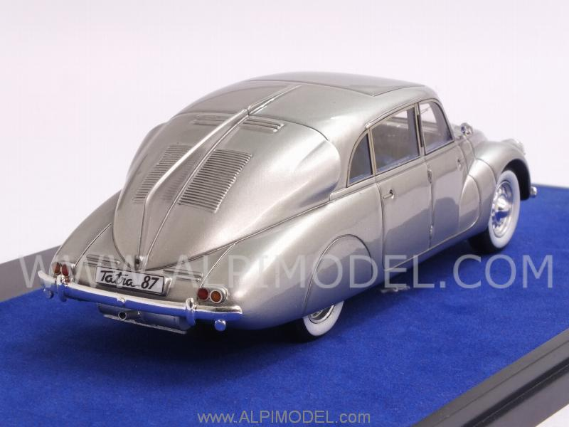 Tatra T87 1941 (Silver) Louwman Museum Collection by matrix-models