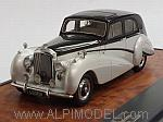 Bentley Harold Radford Countryman MkII Saloon 1951 (Silver/Black) by MATRIX MODELS