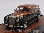 Rolls Royce Silver Cloud Estate Harold Radford 1959 (Copper Metallic/Black) by MATRIX MODELS