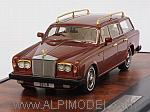 Rolls Royce Silver Shadow Shooting Brake Panelcraft 1980 (Brown Metallic) by MATRIX MODELS.