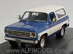 Chevrolet Blazer K5 Cheyenne 1978 (Blue/White) by MATRIX MODELS