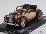 Opel Admiral Hebmuller Cabriolet 1938 (Amarant/Cream) by MTX