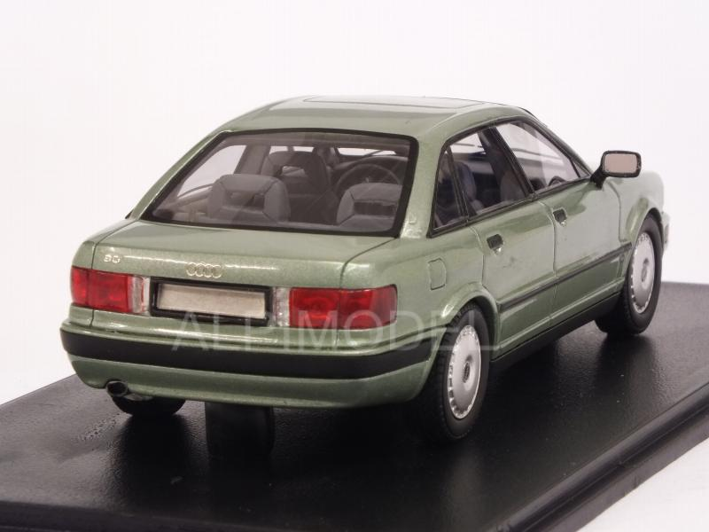 Audi 80 1992 Light Metallic Green 1:43 Model NEO SCALE MODELS b4