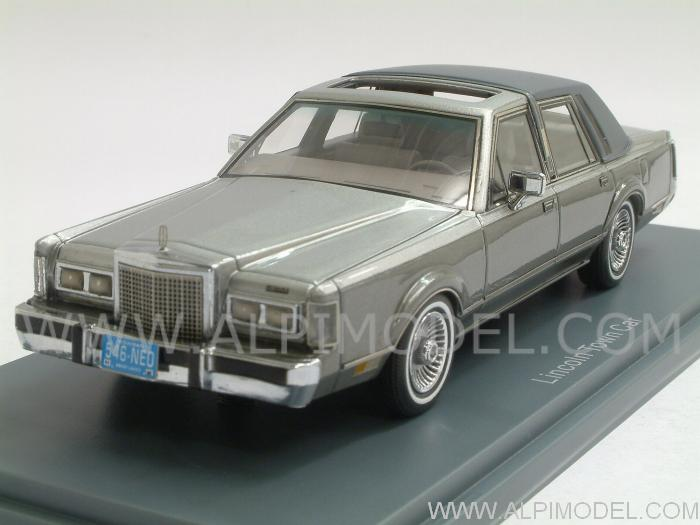 2016 Lincoln Town Car >> neo Lincoln Town Car 1982 (Grey Metallic) (1/43 scale model)