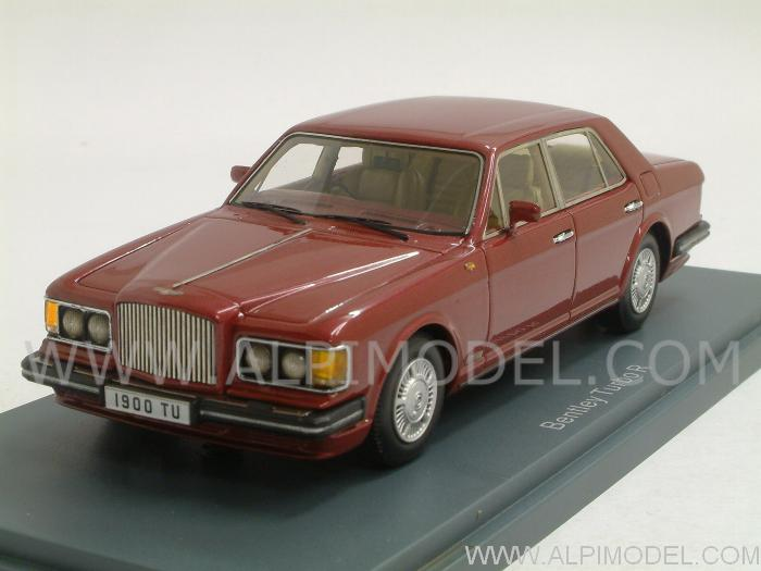 NEO. Bentley Mulsanne Turbo R Red metallic 1989 - 1992 (1/43 scale ...