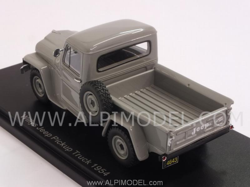 Jeep Willys 1954 >> neo Jeep Willys Pickup Truck 1954 (Grey) (1/43 scale model)