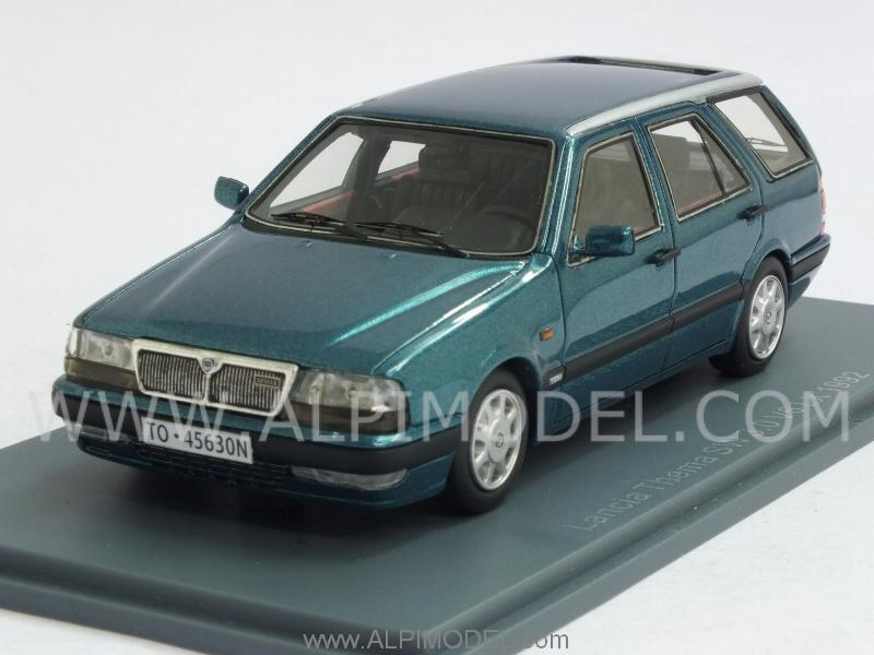 neo lancia thema sw 3 0 v6 lx 1992 metallic green 1 43 scale model. Black Bedroom Furniture Sets. Home Design Ideas