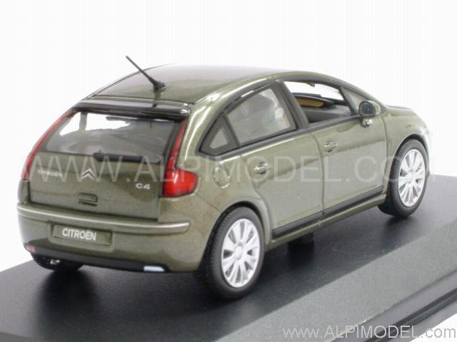norev citroen c4 berline bronze green metallic 1 43 scale model. Black Bedroom Furniture Sets. Home Design Ideas