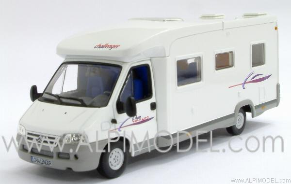 norev citroen jumper challenger eden 602 camping car 1 43 scale model. Black Bedroom Furniture Sets. Home Design Ideas