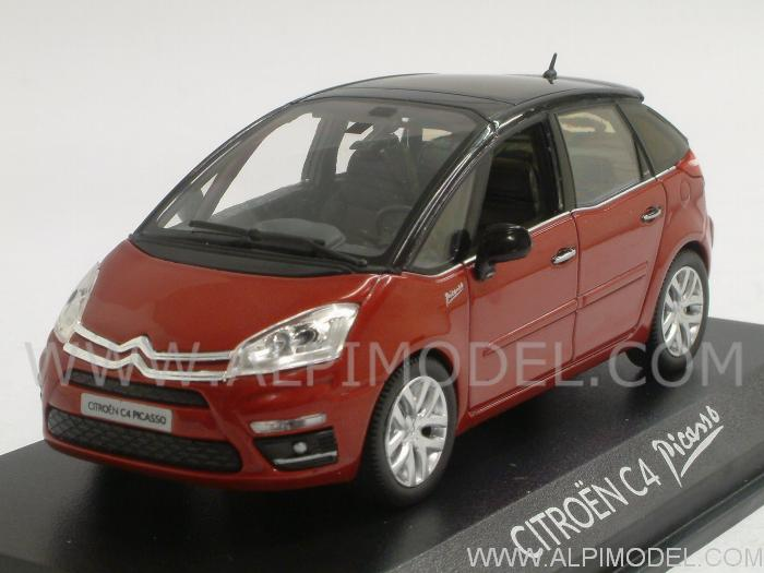 norev citroen c4 picasso 2011 red 1 43 scale model. Black Bedroom Furniture Sets. Home Design Ideas