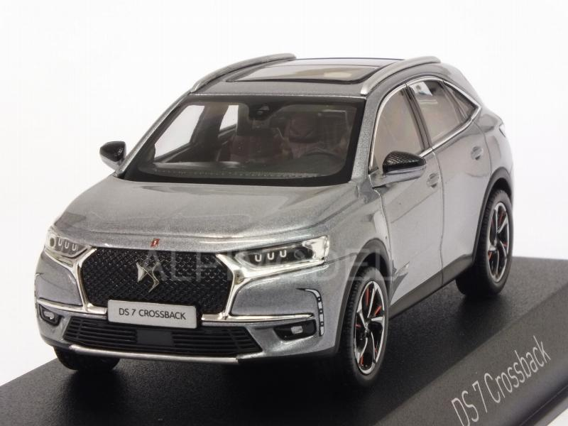 norev citroen ds7 crossback la premiere 2017 artense grey 1 43 scale model. Black Bedroom Furniture Sets. Home Design Ideas