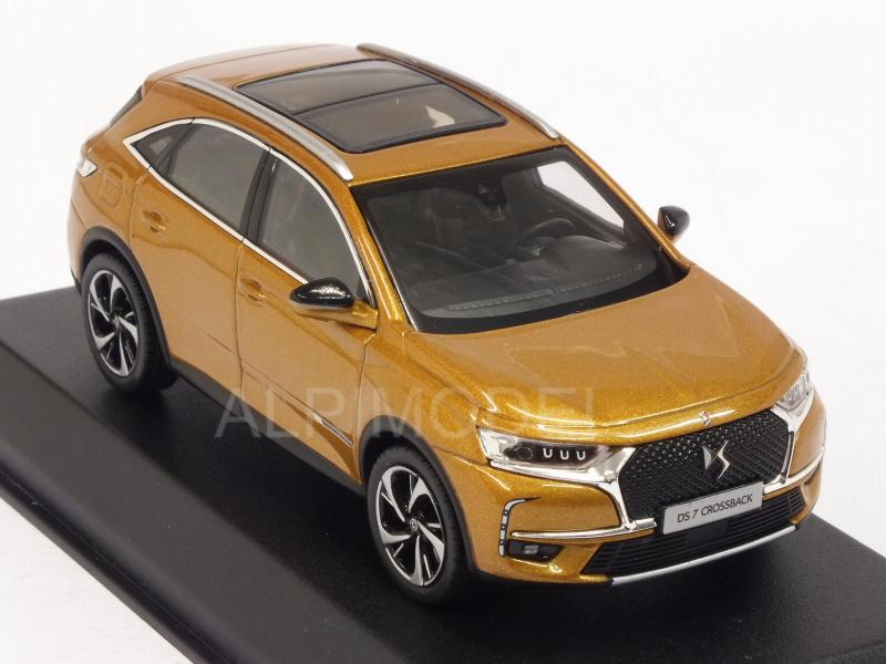 norev citroen ds7 crossback 2017 gold 1 43 scale model. Black Bedroom Furniture Sets. Home Design Ideas
