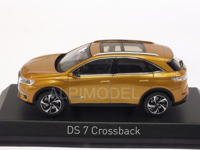 norev citroen ds7 crossback 2017 gold 1 43 scale model. Black Bedroom Furniture Sets. Home Design Ideas