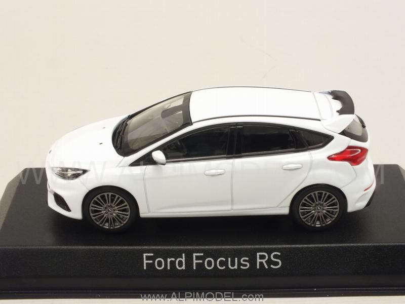 Norev ford focus rs 2016 white 1 43 scale model