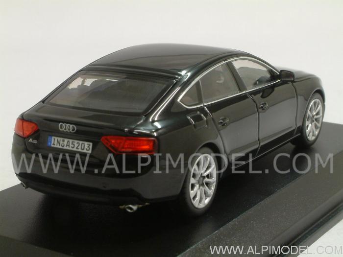 NOREV Audi A5 Sportback 2012 (Phantom Black) Audi promo (1/43 scale