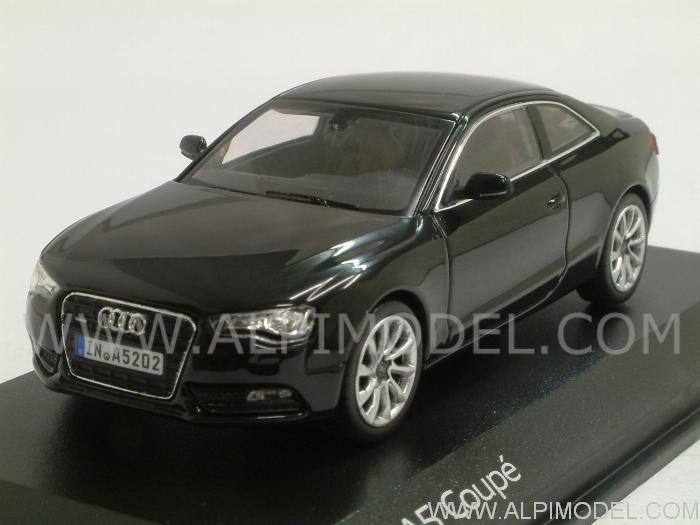 NOREV Audi A5 Coupe 2012 (Phantom Black) Audi promo (1/43 scale model)