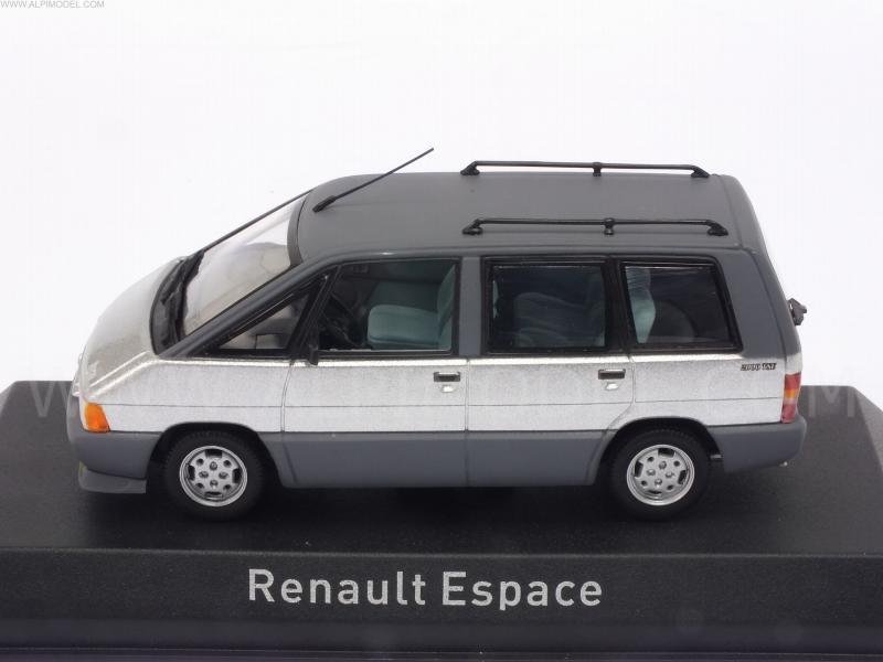 norev renault espace 1984 titane silver 1 43 scale model. Black Bedroom Furniture Sets. Home Design Ideas