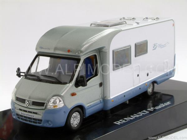 norev renault master camping car burstner motorhome 1 43 scale model. Black Bedroom Furniture Sets. Home Design Ideas