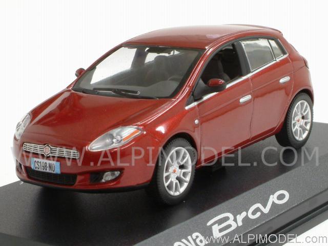 norev fiat bravo 2007 rosso metallizzato 1 43 scale model. Black Bedroom Furniture Sets. Home Design Ideas