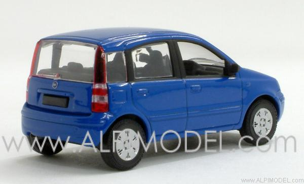 norev fiat panda 2003 blu cocktail 1 43 scale model. Black Bedroom Furniture Sets. Home Design Ideas