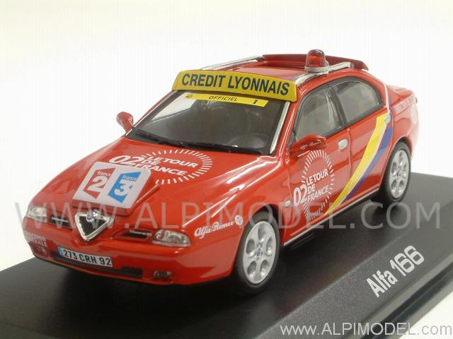 norev alfa romeo 166 directeur de course tor de france 1 43 scale model. Black Bedroom Furniture Sets. Home Design Ideas