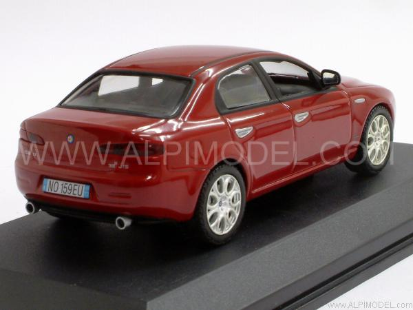 norev alfa romeo 159 q4 3 2 v6 rosso 1 43 scale model. Black Bedroom Furniture Sets. Home Design Ideas