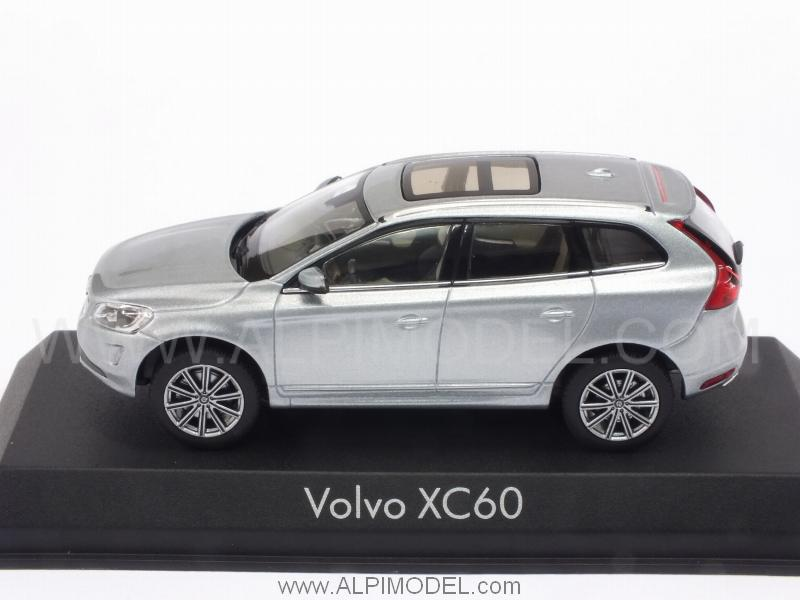 Norev Volvo Xc60 2013 Electric Silver 1 43 Scale Model