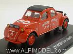 Citroen 2CV Fire Brigades Cogolin 1961 by NOREV