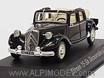 Citroen Traction 15-Six Decouvrable 1951 (Black) by NOREV