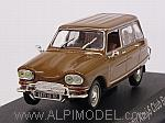 Citroen Ami 6 Club Break 1968 (Brown) by NOREV