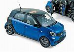 Smart Fortwo 2015 (Black/Blue) by NOREV